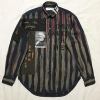 Newアナーキーシャツ メンズM  ディープブルー051
