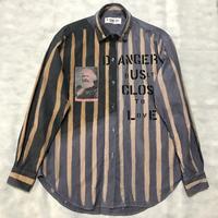 Newアナーキーシャツ メンズL  DipDye 001