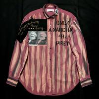 Newアナーキーシャツ メンズXL  ライトボルドー