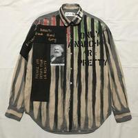 Newアナーキーシャツ メンズL  グレー080