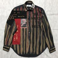 Newアナーキーシャツ メンズM  ディープブルー002