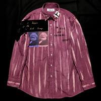 アナーキーシャツ メンズXL ライトボルドー