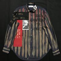 Newアナーキーシャツ メンズM  ディープブルー