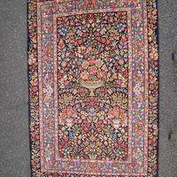 ケルマン フローラル 絨毯 30年前