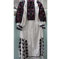 オールド ルーマニア 刺繍ドレス トランシルバニア