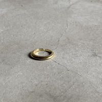 ring-a02019  SV925 Flat  Crescent Moon Ring