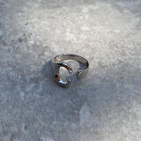 ring-a02032  SV925 Antler Design Ring