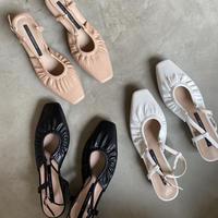 shoes-a02001 Front Gather Sandals
