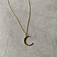 necklace-a02034 SV925  Crescent Moon Necklace