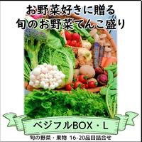 ベジフルBOX・L(お野菜てんこ盛り)