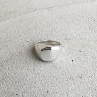 [INITIAL] Silver925 / シグネットリング・印台リング・ワイドスクエア / シルバー925