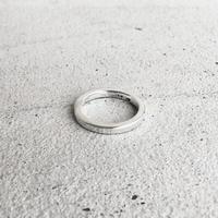 [INITIAL] Silver925 / シンプル・フラットリング / シルバー925
