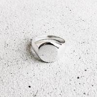 [INITIAL] Silver925 / シグネットリング・印台リング・サークル