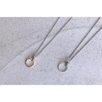 [Atelier CraM] サージカルステンレス / Ring Holder Necklace / リングホルダーネックレス / 指輪をネックレスに変える魔法のアイテム