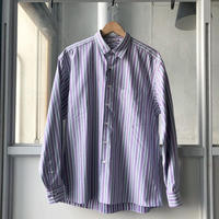 AURALEE   WASHED FINX TWILL STRIPE SHIRTS  A9SS01TS (mens)