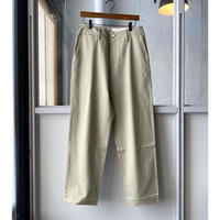 AURALEE   WASHED FINX LIGHT CHINO PANTS  A21SP01FC  (mens)