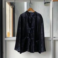 COMOLI   シルク別珍 スタンドカラージャケット(U03-01006)