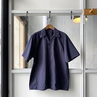 COMOLI   タイプライター  オープンカラーシャツ