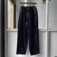 COMOLI   シルク別珍 ドローストリングパンツ/(U03-03006)