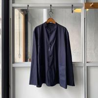 COMOLI   ウールフラノ スタンドカラージャケット(U03-01003)