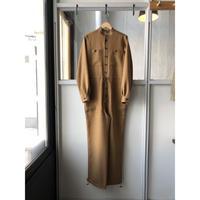AURALEE   WOOL CUPRA LINEN CLOTH JUMPSUIT  A20ST06CL (womens)