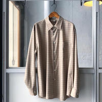 AURALEE  SUPER LIGHT WOOL CHECK SHIRTS A20SS01LC (mens)