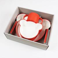 tak. キッズディッシュ ギフトボックス ベア カトラリー オレンジ 【JTN-1011-OR / 96309】