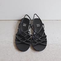 Cross rubber sandal