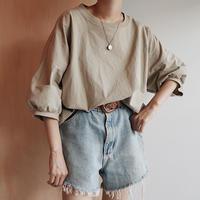 beige cotton tops