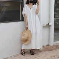white long one-piece