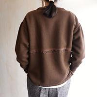 Embroidery sweat (brown)
