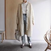 60's hand knit coat