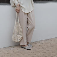 Ivory easy pants