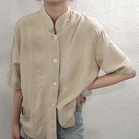 standcollar shirt