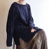 Mall navy knit