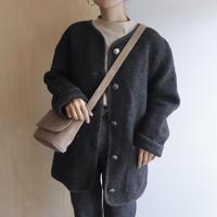 Charcoal wool jacket
