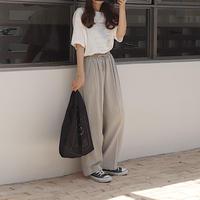gray easy pants