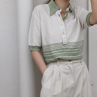 s/s knit  shirt