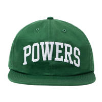 POWERS / ARCH LOGO 6 PANEL CAP / GREEN
