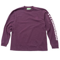 Mister Green / Psychedelics Pro Heavyweight L/S Tee - Midnight Purple