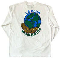 Le-Club / Worldwide S/s T-shirt / white