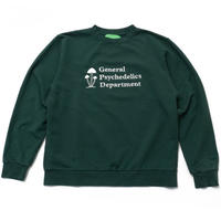 Mister Green / General Psychedelics V2 Crewneck - Forest
