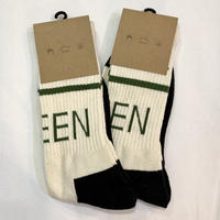 Mister Green / Swiss Wordmark Socks