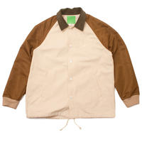 Mister Green / HYBRID JACKET - Beige/Coyote/Green