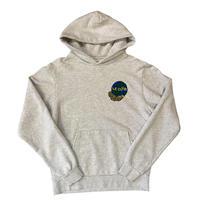 Le-Club / Worldwide Hooded sweatshirt / Heather grey