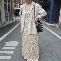 Cotton × linen jacket