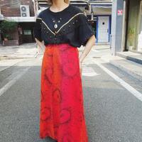 Sunflower long skirt