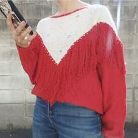 Fringe knit