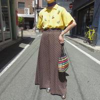 Brown dot skirt