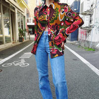 Retro flower shirt